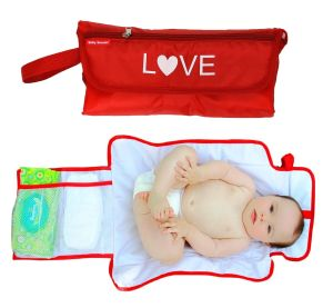 vi love diaper clutch