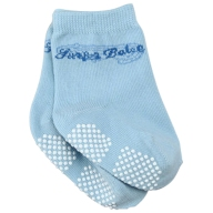surfer baby socks blue